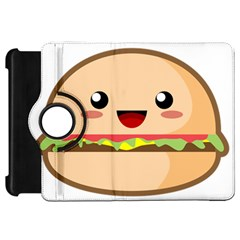 Kawaii Burger Kindle Fire Hd Flip 360 Case
