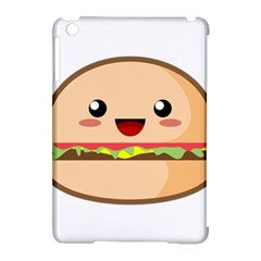 Kawaii Burger Apple iPad Mini Hardshell Case (Compatible with Smart Cover)
