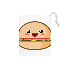 Kawaii Burger Drawstring Pouches (Small)