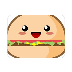 Kawaii Burger Double Sided Flano Blanket (mini)
