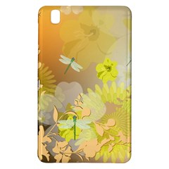 Beautiful Yellow Flowers With Dragonflies Samsung Galaxy Tab Pro 8 4 Hardshell Case