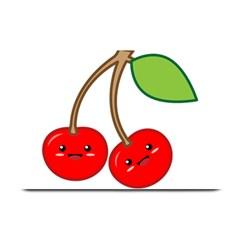 Kawaii Cherry Plate Mats