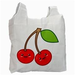 Kawaii Cherry Recycle Bag (two Side)