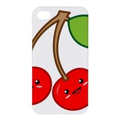 Kawaii Cherry Apple iPhone 4/4S Hardshell Case