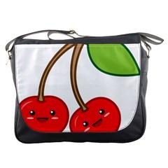 Kawaii Cherry Messenger Bags