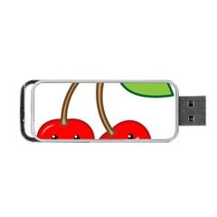 Kawaii Cherry Portable USB Flash (Two Sides)