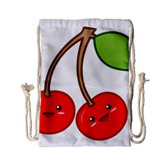 Kawaii Cherry Drawstring Bag (Small)