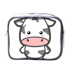 Kawaii Cow Mini Toiletries Bags