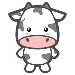 Kawaii Cow Magic Photo Cubes