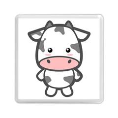 Kawaii Cow Memory Card Reader (Square)