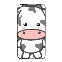 Kawaii Cow Apple iPhone 4/4s Seamless Case (Black)