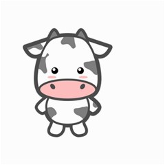 Kawaii Cow Small Garden Flag (Two Sides)