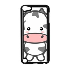 Kawaii Cow Apple iPod Touch 5 Case (Black)