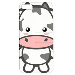 Kawaii Cow Apple Iphone 5 Hardshell Case With Stand