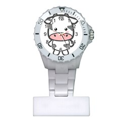 Kawaii Cow Nurses Watches