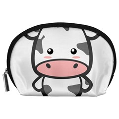 Kawaii Cow Accessory Pouches (Large)