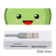 Kawaii Green Apple Memory Card Reader (Stick)