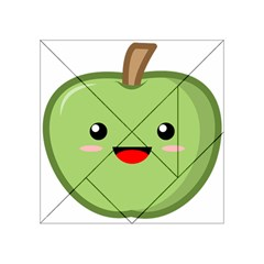 Kawaii Green Apple Acrylic Tangram Puzzle (4  x 4 )