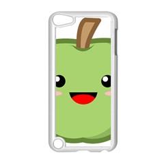 Kawaii Green Apple Apple Ipod Touch 5 Case (white)