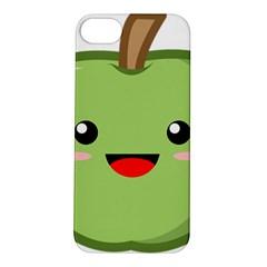 Kawaii Green Apple Apple Iphone 5s Hardshell Case