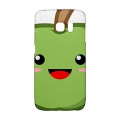 Kawaii Green Apple Galaxy S6 Edge