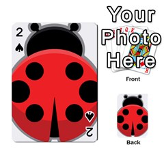 Kawaii Ladybug Playing Cards 54 Designs