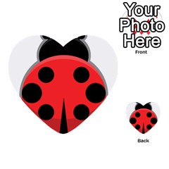 Kawaii Ladybug Multi-purpose Cards (Heart)