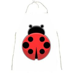 Kawaii Ladybug Full Print Aprons