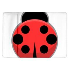 Kawaii Ladybug Samsung Galaxy Tab 10.1  P7500 Flip Case