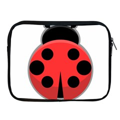 Kawaii Ladybug Apple iPad 2/3/4 Zipper Cases