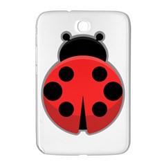 Kawaii Ladybug Samsung Galaxy Note 8.0 N5100 Hardshell Case