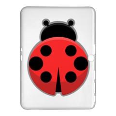 Kawaii Ladybug Samsung Galaxy Tab 4 (10 1 ) Hardshell Case