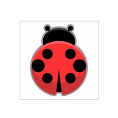 Kawaii Ladybug Satin Bandana Scarf