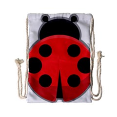 Kawaii Ladybug Drawstring Bag (Small)