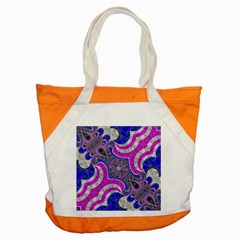 Beautiful Blue Black Abstract  Accent Tote Bag