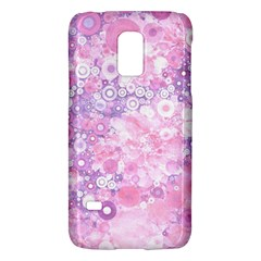 Lovely Allover Ring Shapes Flowers Pink Galaxy S5 Mini