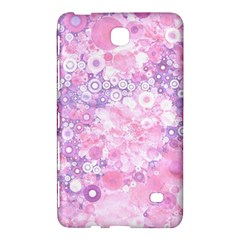 Lovely Allover Ring Shapes Flowers Pink Samsung Galaxy Tab 4 (7 ) Hardshell Case