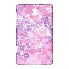 Lovely Allover Ring Shapes Flowers Pink Samsung Galaxy Tab S (8.4 ) Hardshell Case