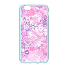 Lovely Allover Ring Shapes Flowers Pink Apple Seamless iPhone 6 Case (Color)