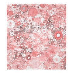 Lovely Allover Ring Shapes Flowers Shower Curtain 66  x 72  (Large)