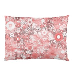 Lovely Allover Ring Shapes Flowers Pillow Cases (two Sides)