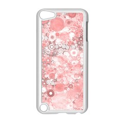 Lovely Allover Ring Shapes Flowers Apple iPod Touch 5 Case (White)