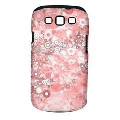 Lovely Allover Ring Shapes Flowers Samsung Galaxy S III Classic Hardshell Case (PC+Silicone)