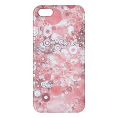 Lovely Allover Ring Shapes Flowers iPhone 5S Premium Hardshell Case