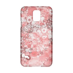 Lovely Allover Ring Shapes Flowers Samsung Galaxy S5 Hardshell Case