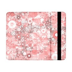 Lovely Allover Ring Shapes Flowers Samsung Galaxy Tab Pro 8.4  Flip Case