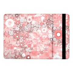 Lovely Allover Ring Shapes Flowers Samsung Galaxy Tab Pro 10.1  Flip Case