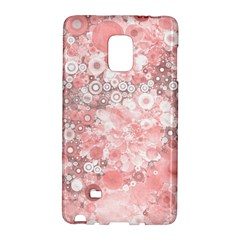 Lovely Allover Ring Shapes Flowers Galaxy Note Edge