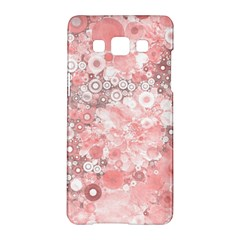 Lovely Allover Ring Shapes Flowers Samsung Galaxy A5 Hardshell Case