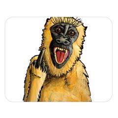Monkey Bastard Double Sided Flano Blanket (Large)